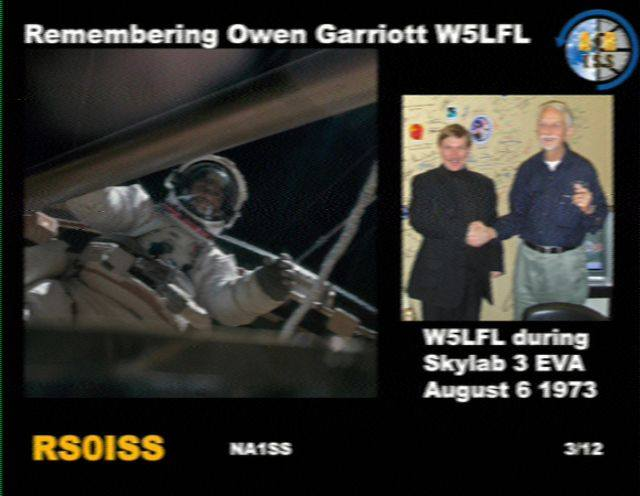 Welcome to the AMSAT SSTV gallery